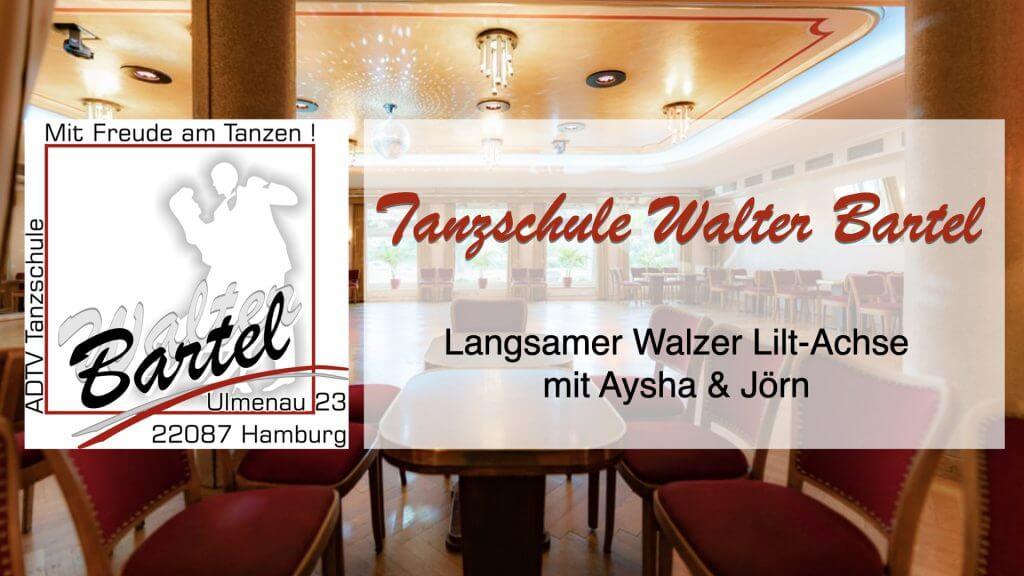 Langsamer Walzer Lilt-Achse
