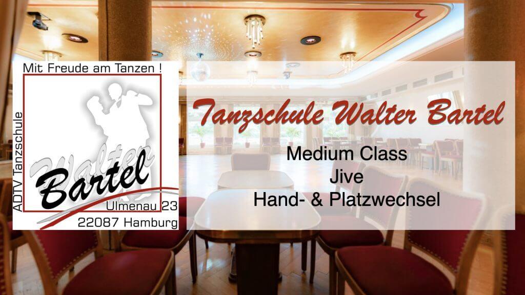 Medium Class Jive Hand- & Platzwechsel